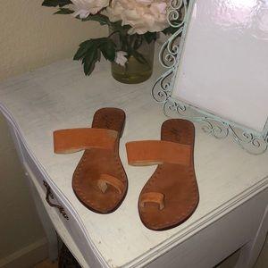 J.Jill Leather toe Sandals